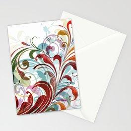 Floral Art Design Stationery Cards