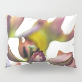 Tulips Reduced To Colores And Lights Pillow Sham