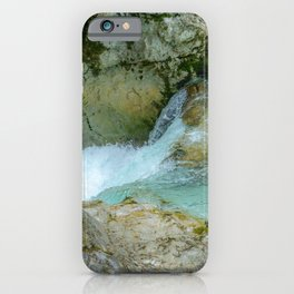 Mountain water iPhone Case