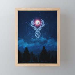 Guardian of the Forest Framed Mini Art Print