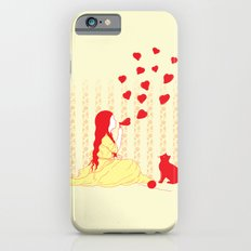 Bubbly Hearts iPhone 6s Slim Case