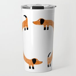 Sausage Dogs Travel Mug