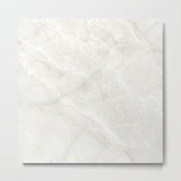 Crystal Marble Texture Metal Print