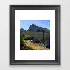 Desert Flora Framed Art Print
