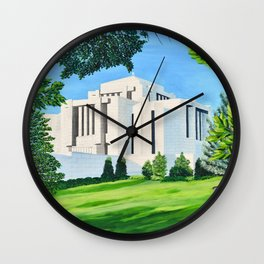 Cardston, Alberta Temple Wall Clock