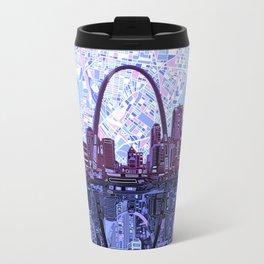 st louis city skyline Travel Mug