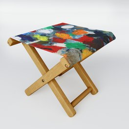 The Artist's Palette Folding Stool