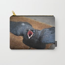 Baby Crow  Carry-All Pouch