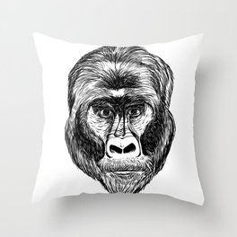 Does My Sentience Make You Uncomfortable? Throw Pillow