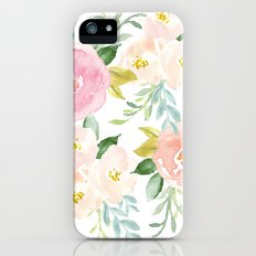 Floral 02 Slim Case iPhone (5, 5s)