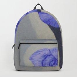Grandma's Blue Rose Backpack