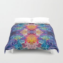 Aurora Swirls Duvet Cover