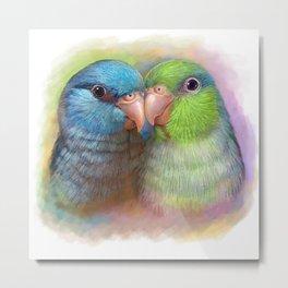 Pacific parrotlet parrot realistic painting Metal Print