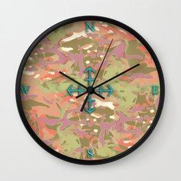 Camo Camo, look at me! Wall Clock