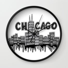 Chicago Wall Clock