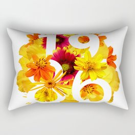 Flower 1986 Rectangular Pillow