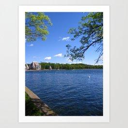 Lake Harriet, Minnesota Art Print
