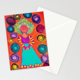 Spiralling Stationery Cards