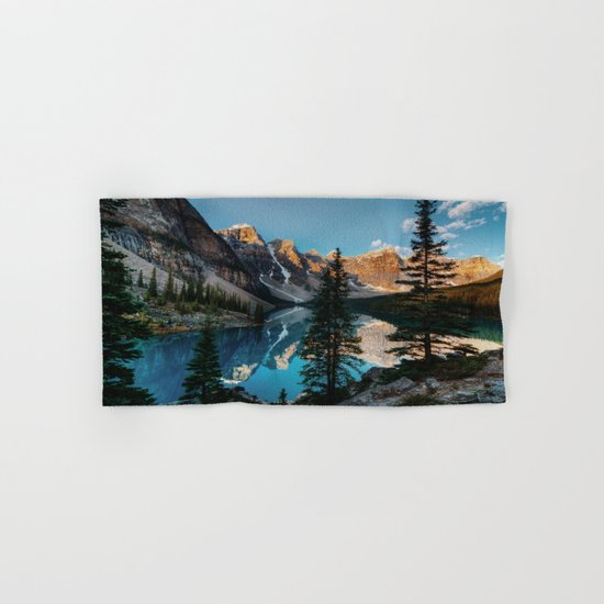Moraine Lake Canada Hand & Bath Towel