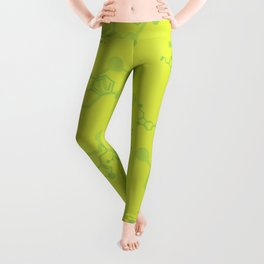 serotonin leaves Leggings