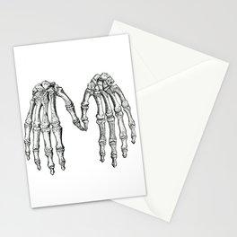 Vintage Anatomical Skeleton Hands Stationery Cards