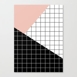 Minimal Geometry Canvas Print