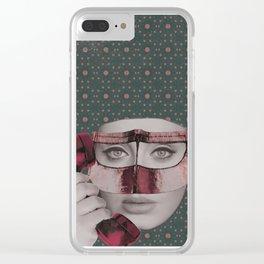 hala Clear iPhone Case