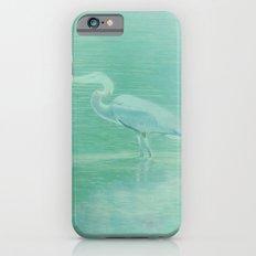 Blue Heron - collage Slim Case iPhone 6s