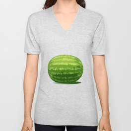 Water Melon Unisex V-Neck