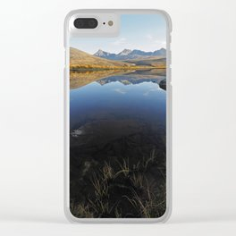 There is an end to the dark Clear iPhone Case