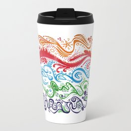 Thoughts in Color Travel Mug