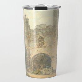 "J.M.W. Turner ""Saint Augustine's Gate, Canterbury"" Travel Mug"