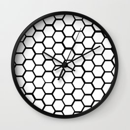 Honeycomb Wall Clock