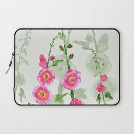 Hollyhocks Laptop Sleeve