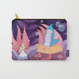 Alice In Wonderland and The Caterpillar Carry-All Pouch