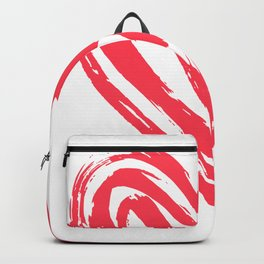 Hand drawn doodle heart Backpack