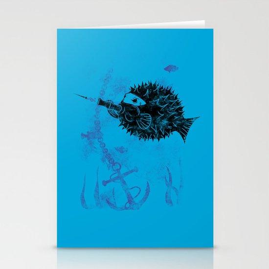 Blowgun Fish Stationery Cards