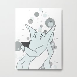 Doggy Greeg Metal Print