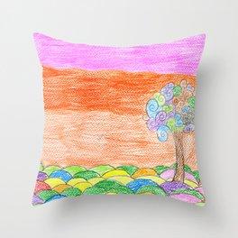 Kassia Alvarez (Claudia) Throw Pillow
