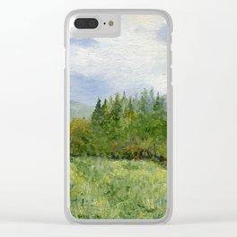 Underhill Fields Clear iPhone Case