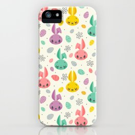 Easter Bunnies iPhone Case