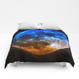 Magical Full Moon Comforters