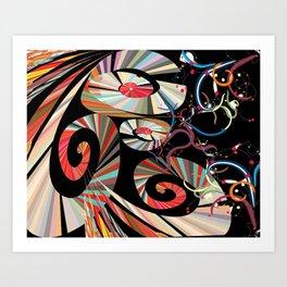 Carneval Art Print