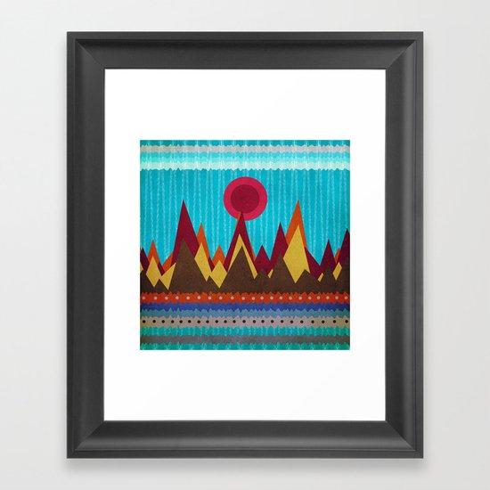 Textures/Abstract 139 Framed Art Print