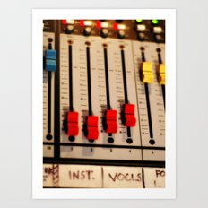 Sound Board I Art Print