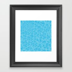 Blue Meth / Happy Sky Framed Art Print