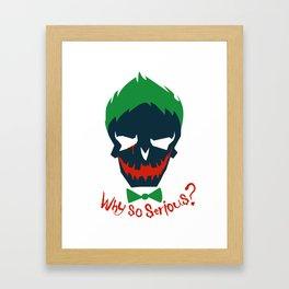 Suicide Squad - The Joker Framed Art Print
