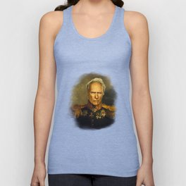 Clint Eastwood - replaceface Unisex Tank Top