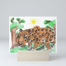 Indian Leopard Mini Art Print