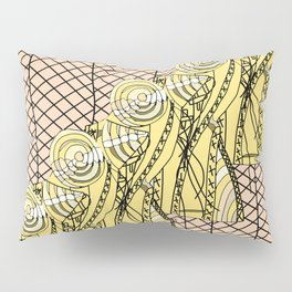 Fishnet Gold Pillow Sham
